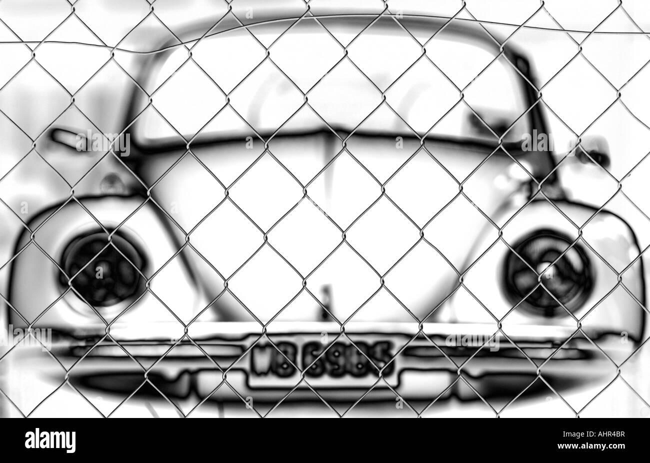 Volkswagen VW beetle - Stock Image