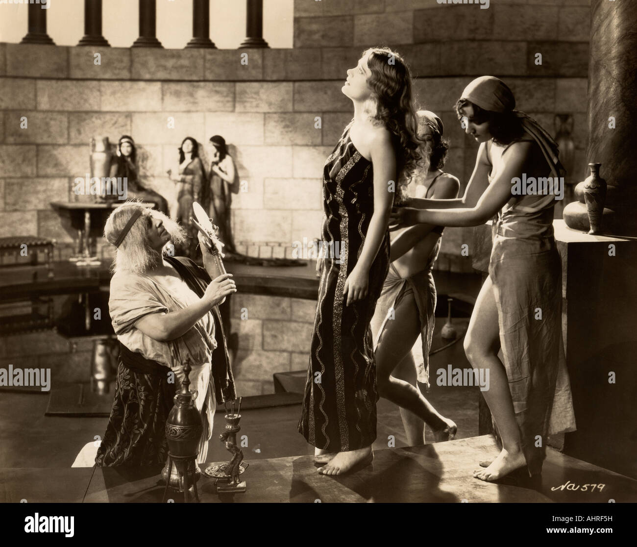 Movie still of Dolores Costello. - Stock Image