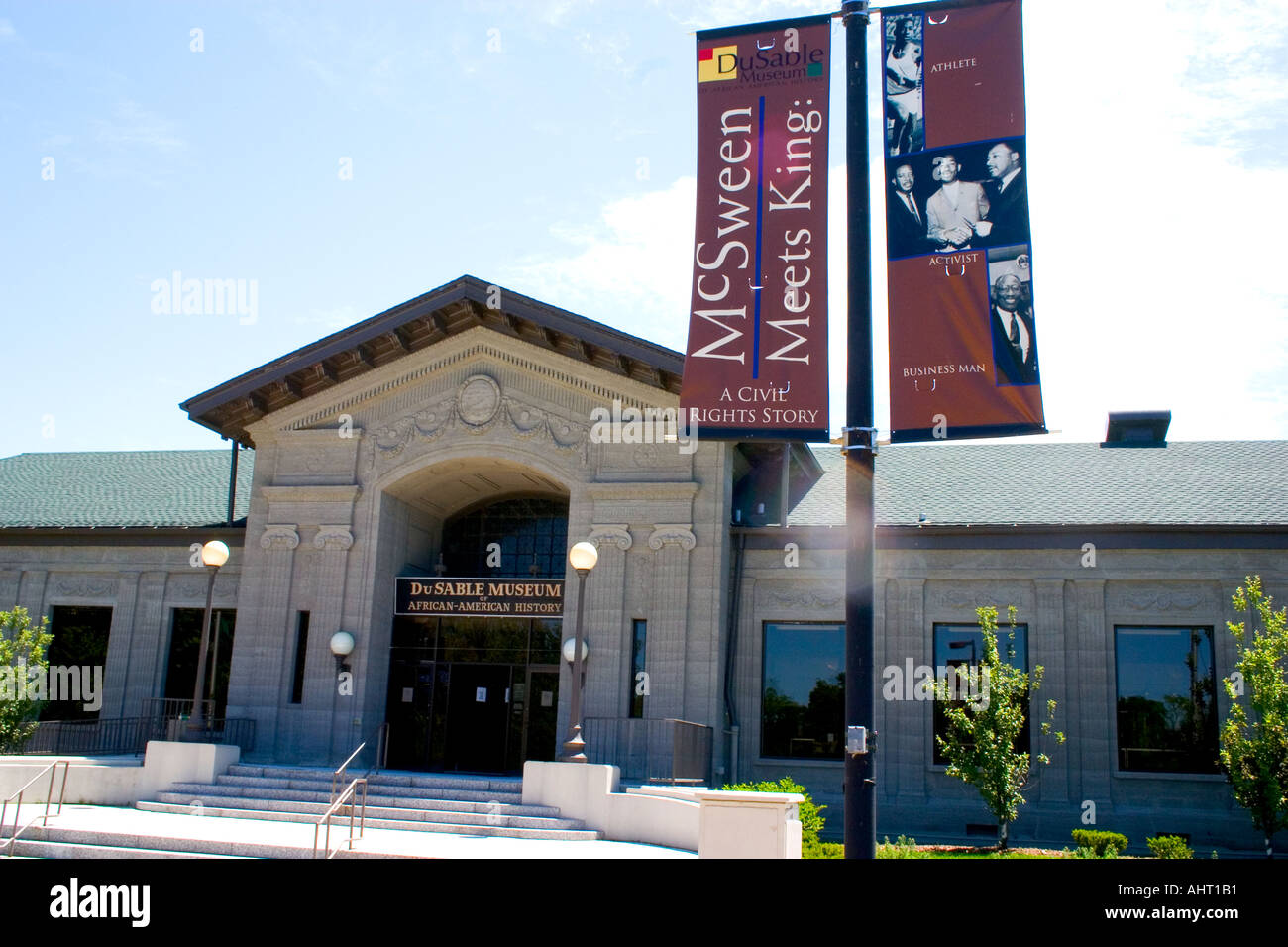 DuSable African American History Museum near University of Chicago. Chicago Illinois IL USA - Stock Image