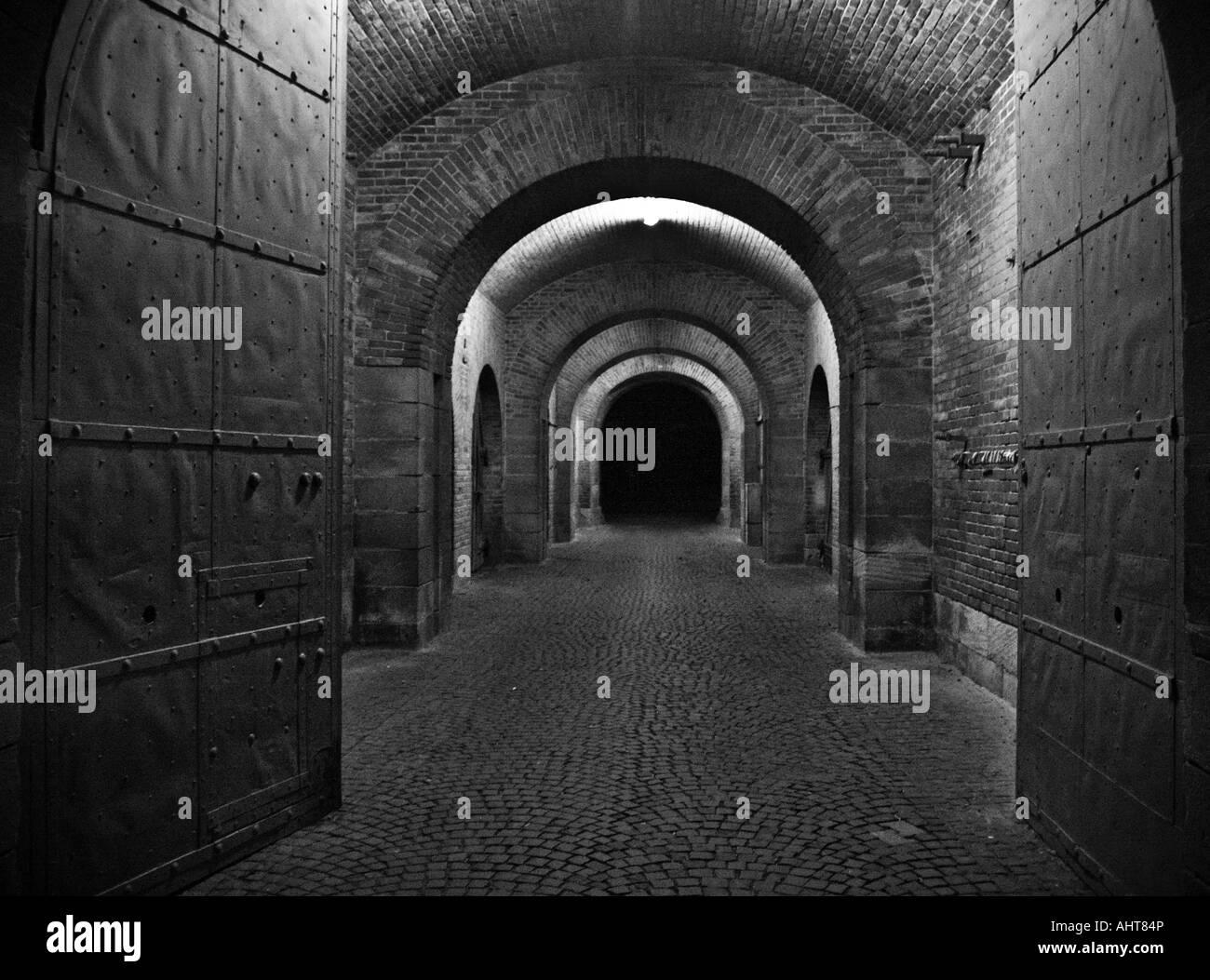 the way throug an old bastion - Stock Image