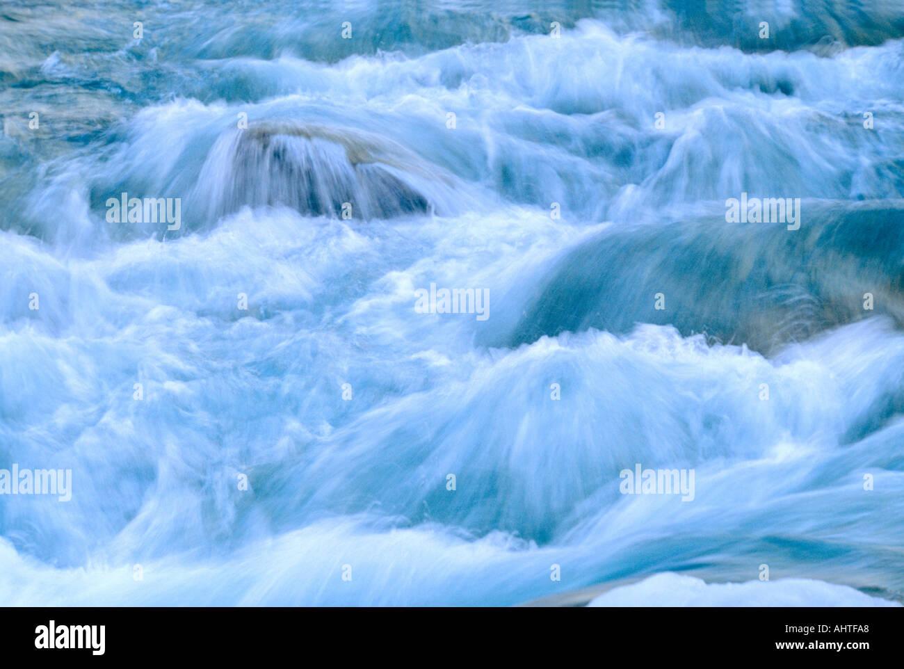 Rushing Water - Stock Image