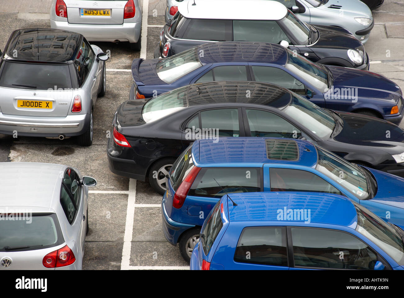 Car Park In Manchester City Centre Stock Photo 14544992 Alamy