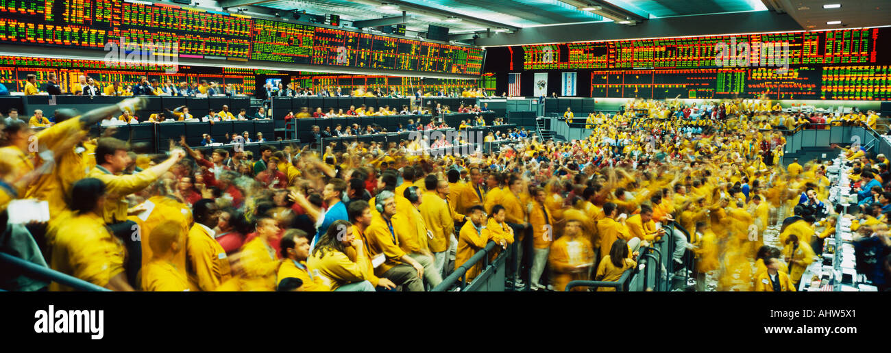 This Is The Chicago Mercantile Exchange Showing The Upper Trading