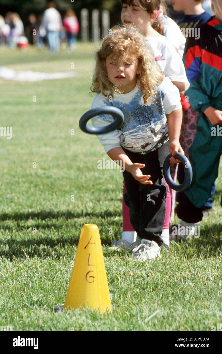 Elementary Field Day Has Activities To Help Kids Develop Their Motor
