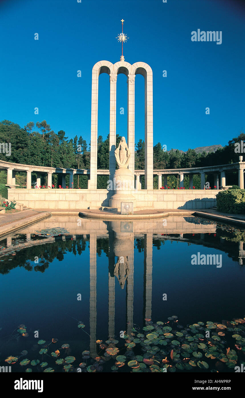 French Huguenot Monument Franschoek South Africa - Stock Image