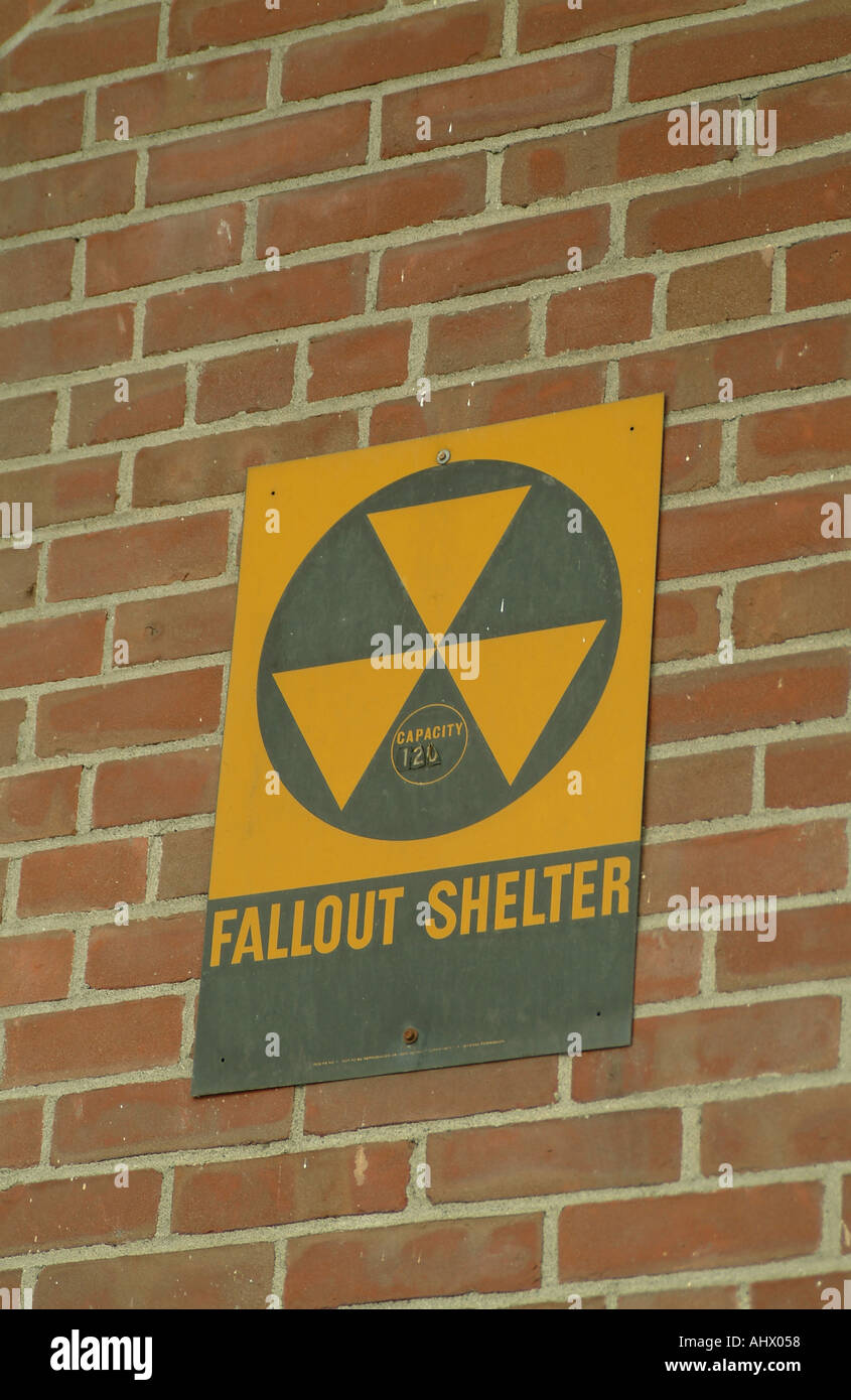 Fallout shelter - Stock Image