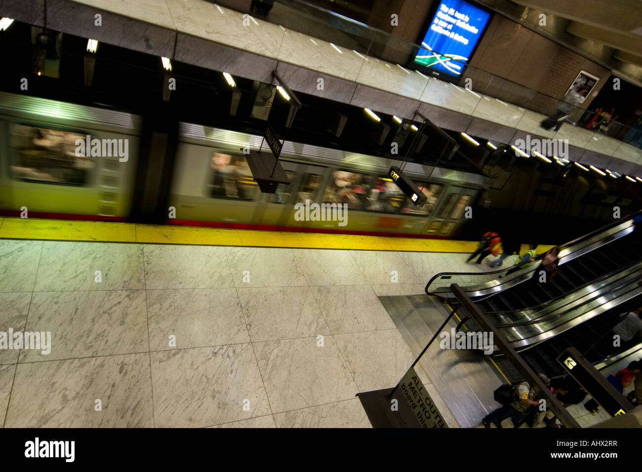 Subway train - Stock Image