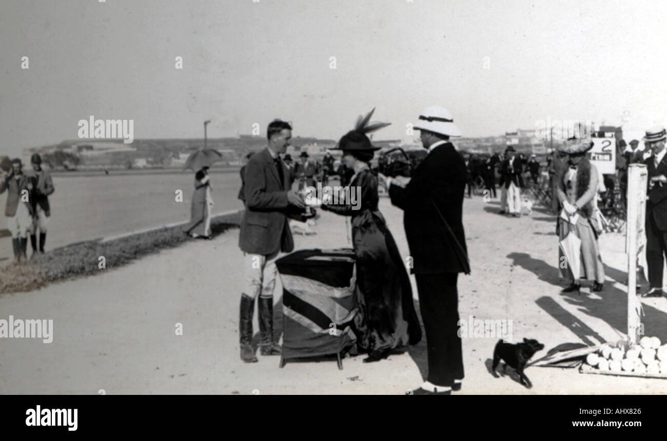 Malta polo club 1914 19  - Stock Image