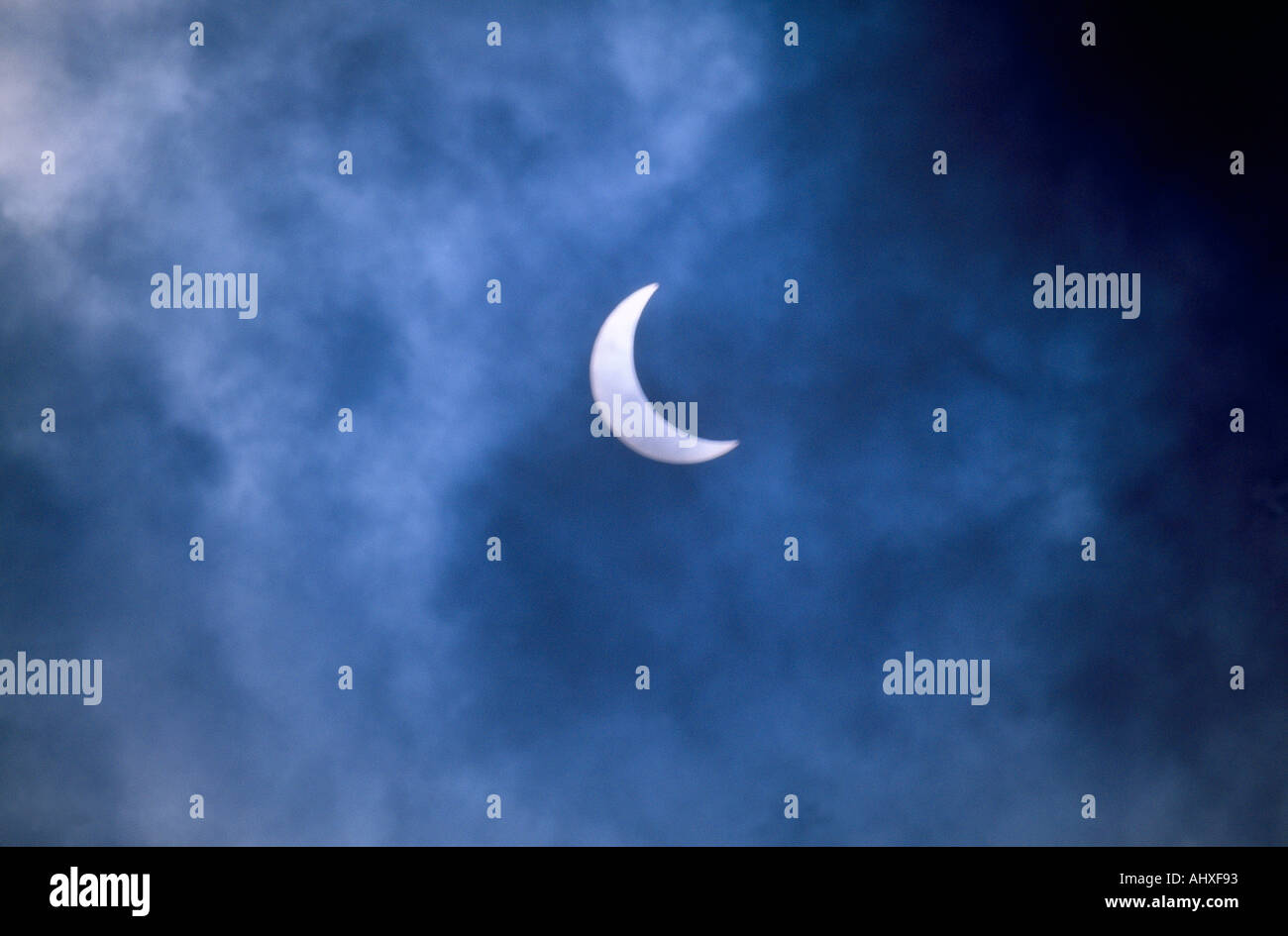 Eclipse Of The Sun August 1999 - Stock Image
