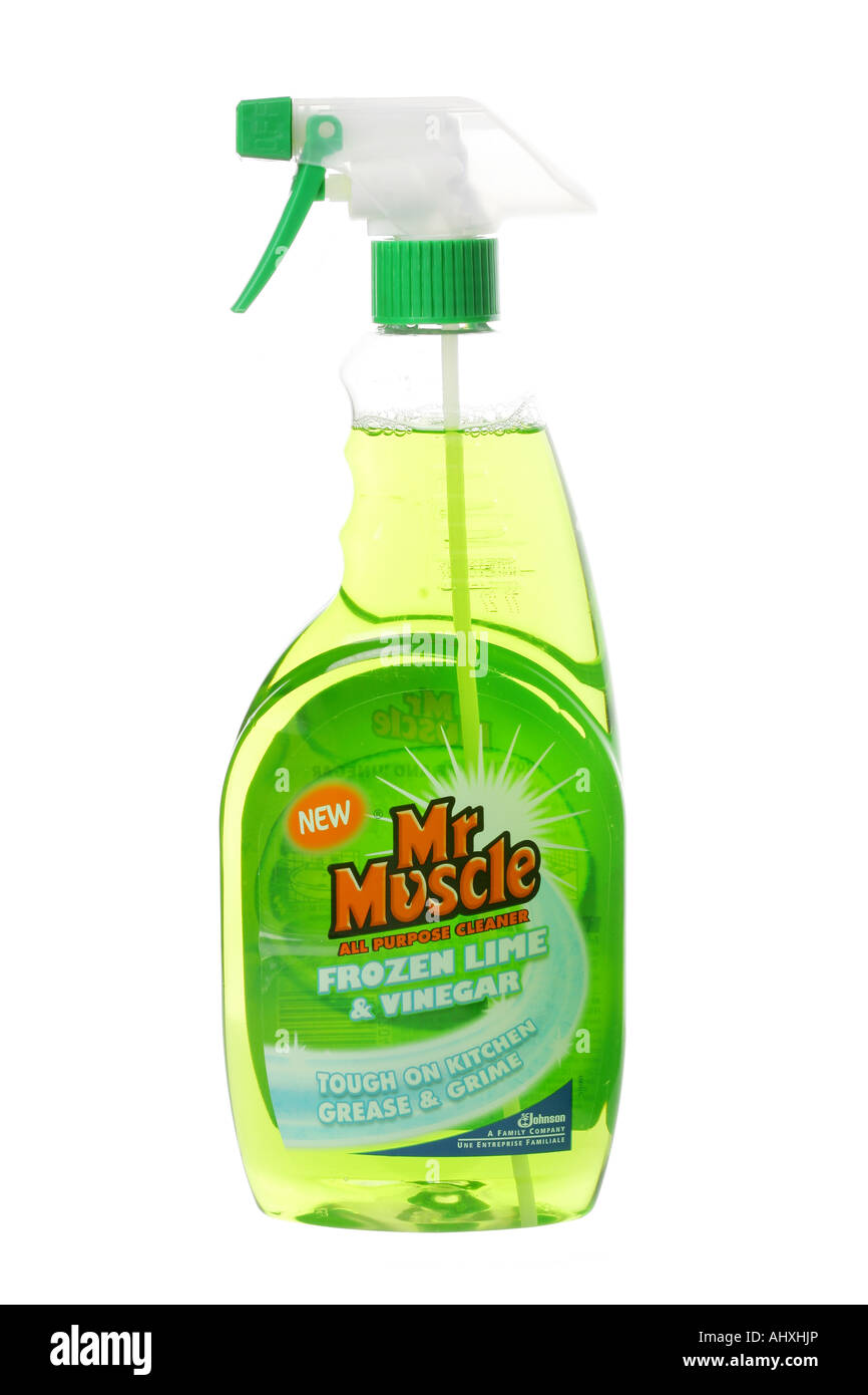 Cleaning Product Stock Photo