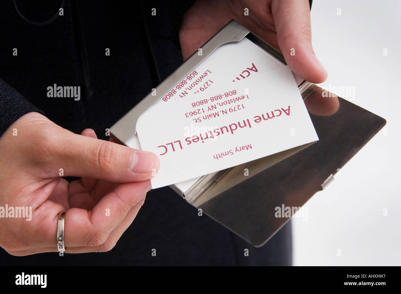 Handing out business cards stock photos handing out business cards businesswoman handing out business cards stock image colourmoves