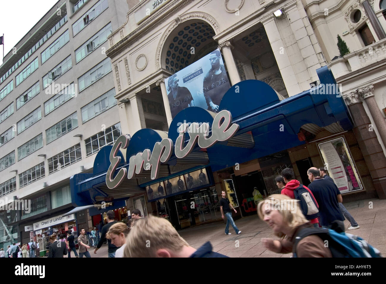 Empire cinema Leicester Square London - Stock Image