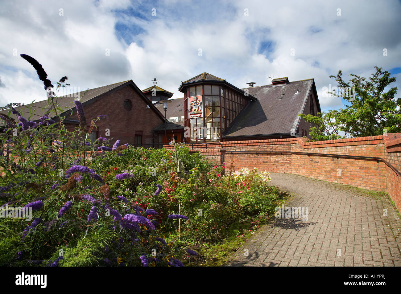 Hambleton District Council Offices at Northallerton North Yorkshire Stock Photo