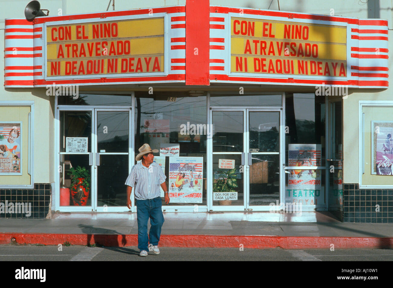 I like to go to the movie theater in spanish