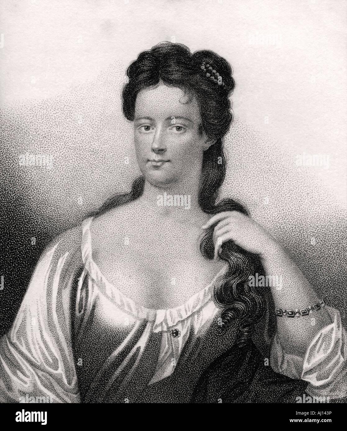 Henrietta Knight nee St John Lady Luxborough - Stock Image