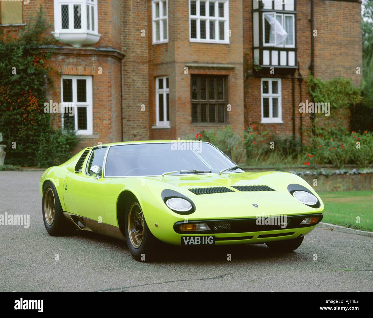 1968 Lamborghini Miura Sv Stock Photo 1184993 Alamy