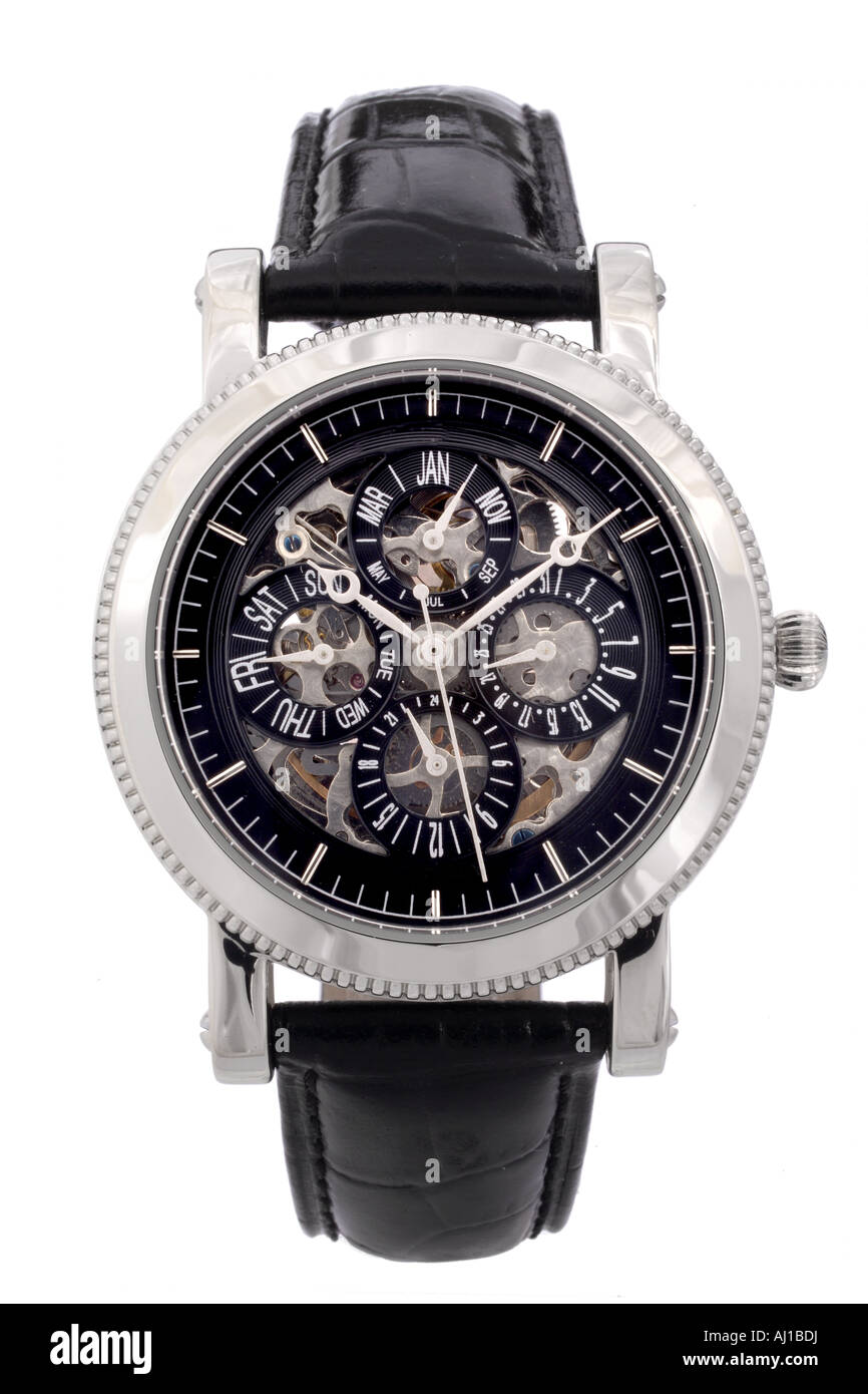 A men's wristwatch - Stock Image