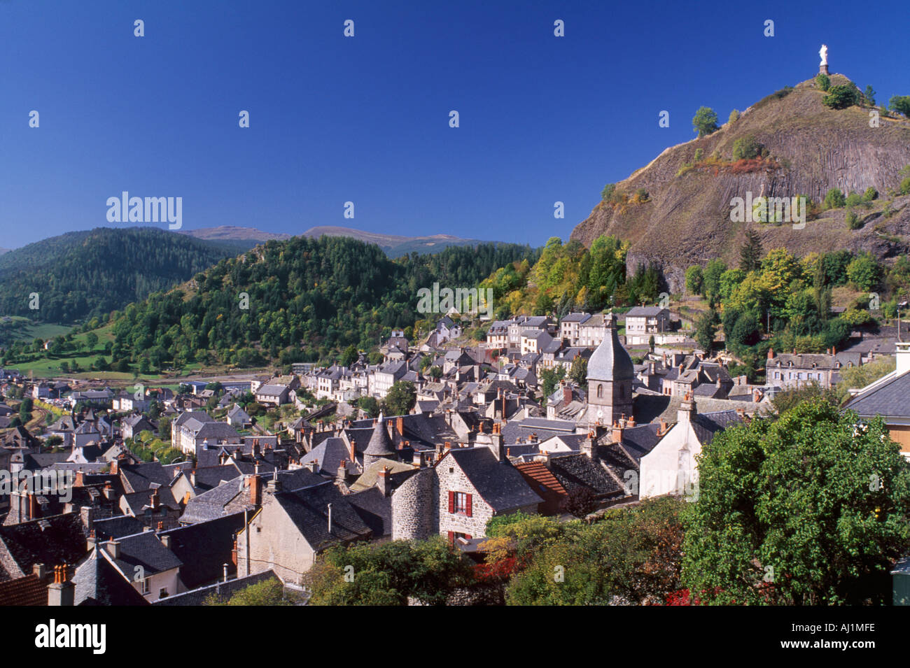 Town Of Murat Cantal France Auvergne Stock Photo  4763901