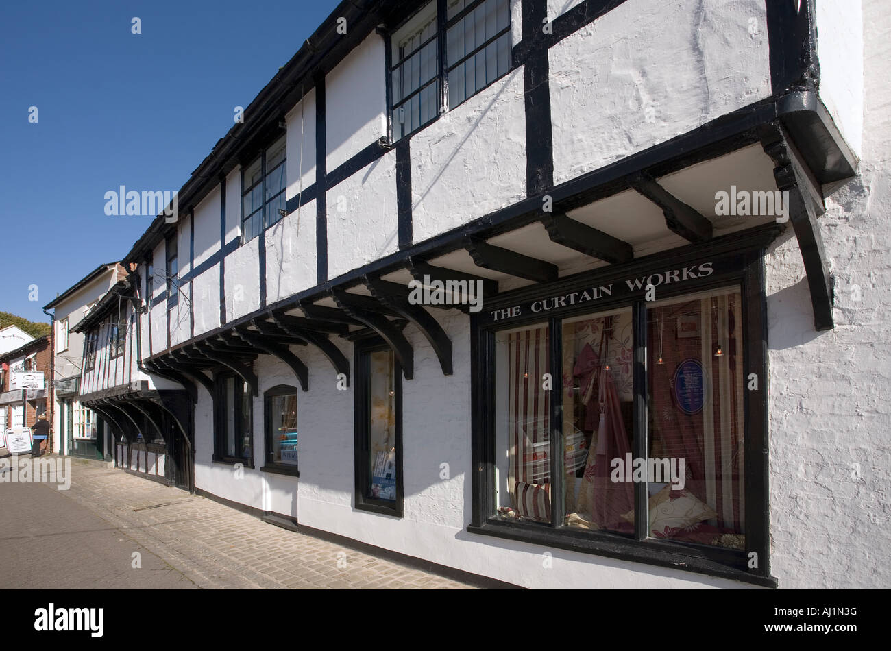Church Lane, former Sherrffs Office, Stafford, Staffordshire, England - Stock Image