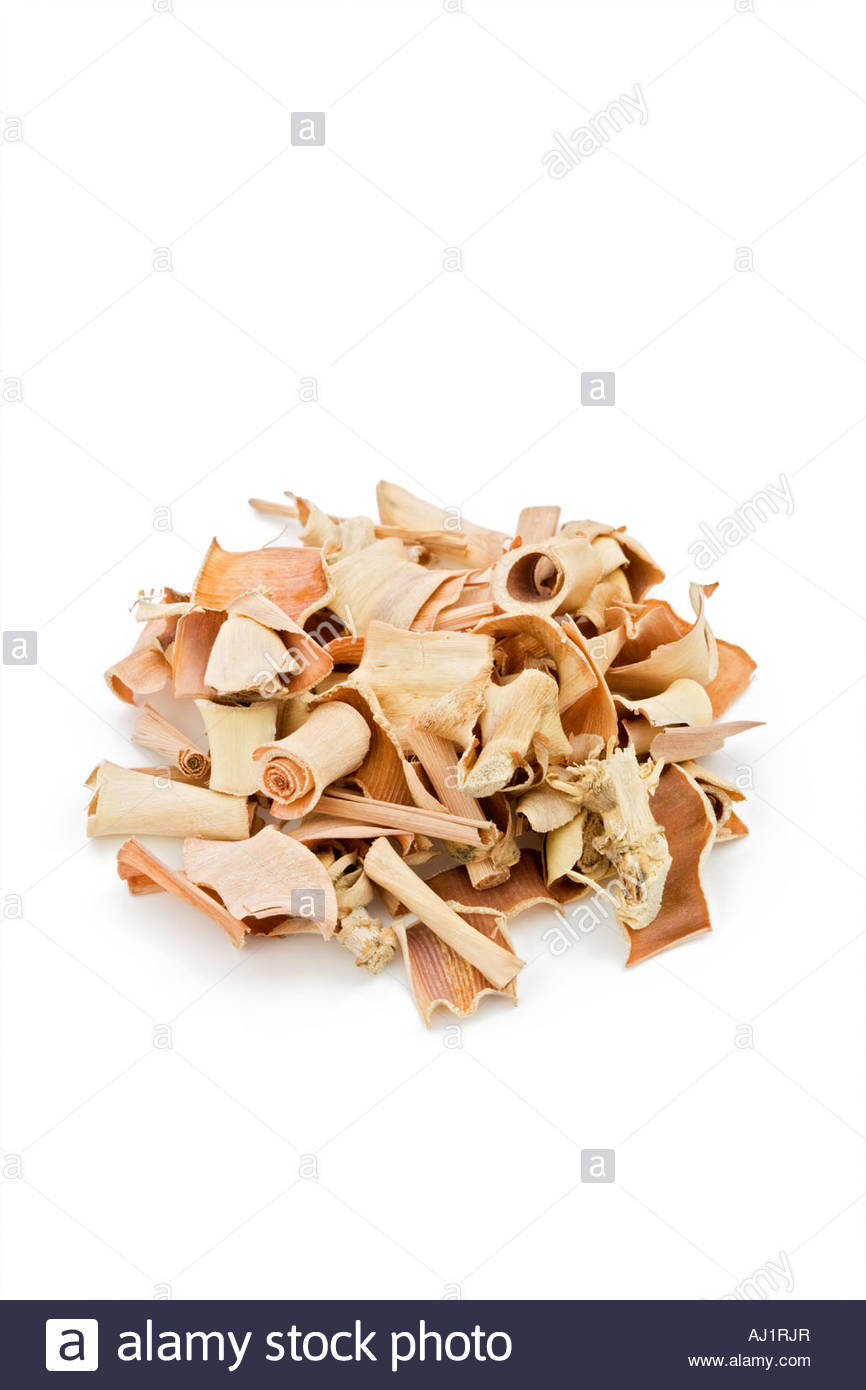 Dried lemongrass (Cymbopogon sp.). herb, herbs, herbal, flavour, flavor, flavouring, flavouring, dried, plant, pieces, - Stock Image