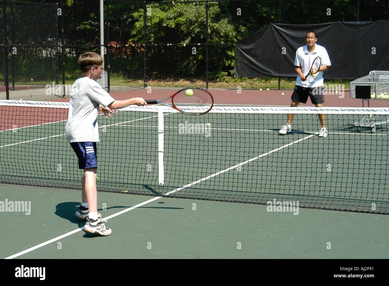 Tennis Spiel