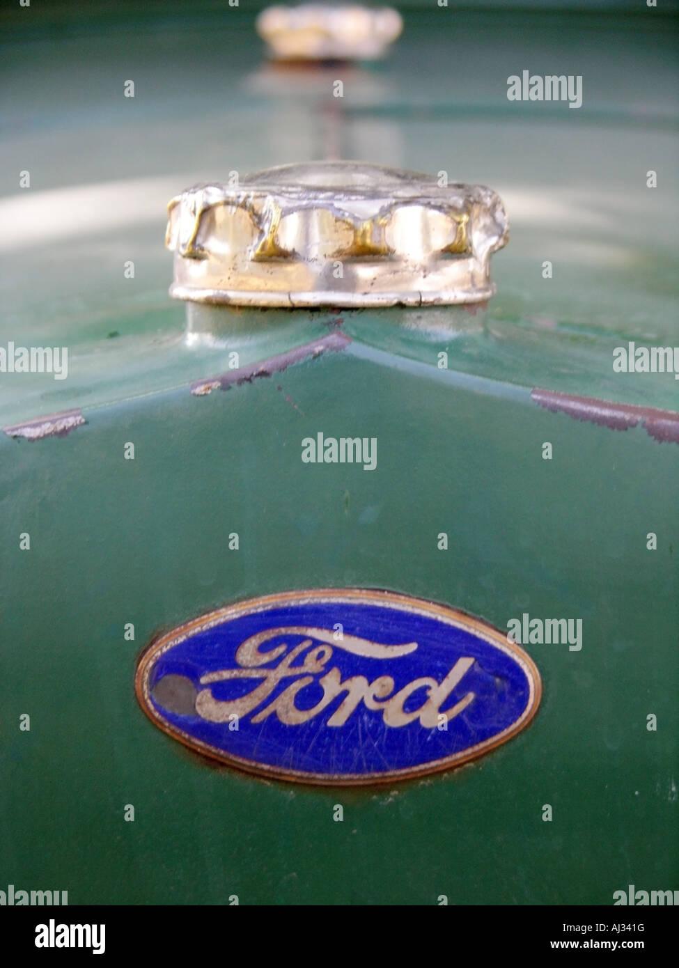 Model T Ford Logo Stock Photo