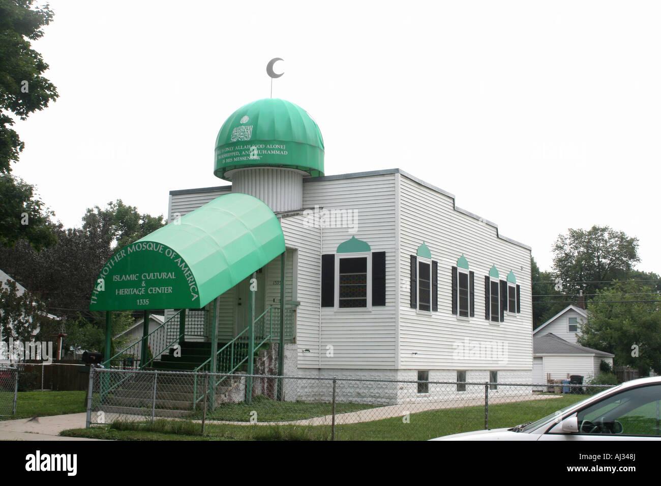 Mother Mosque, Cedar Rapids, Iowa, USA - Stock Image