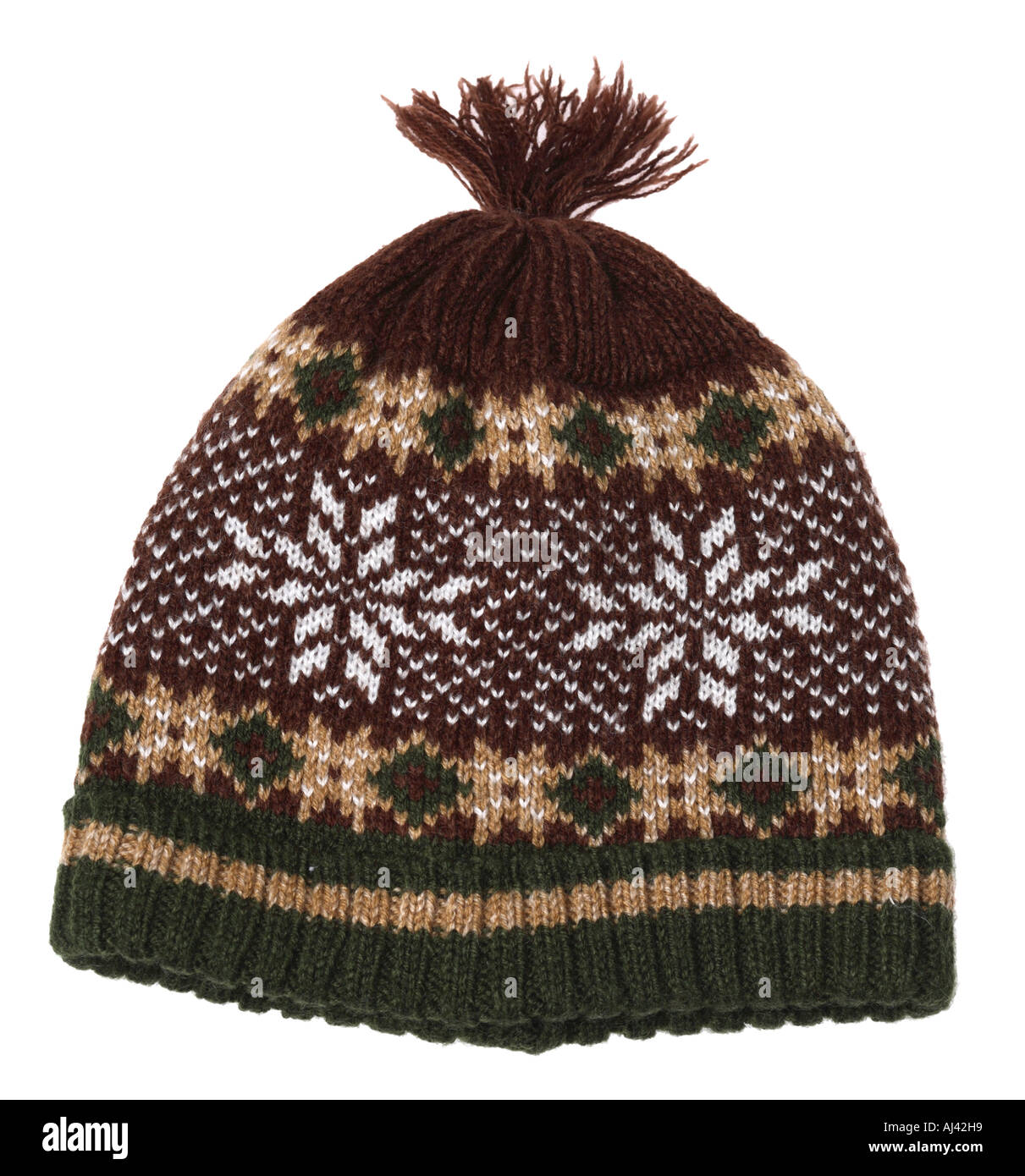 Knit Hat - Stock Image