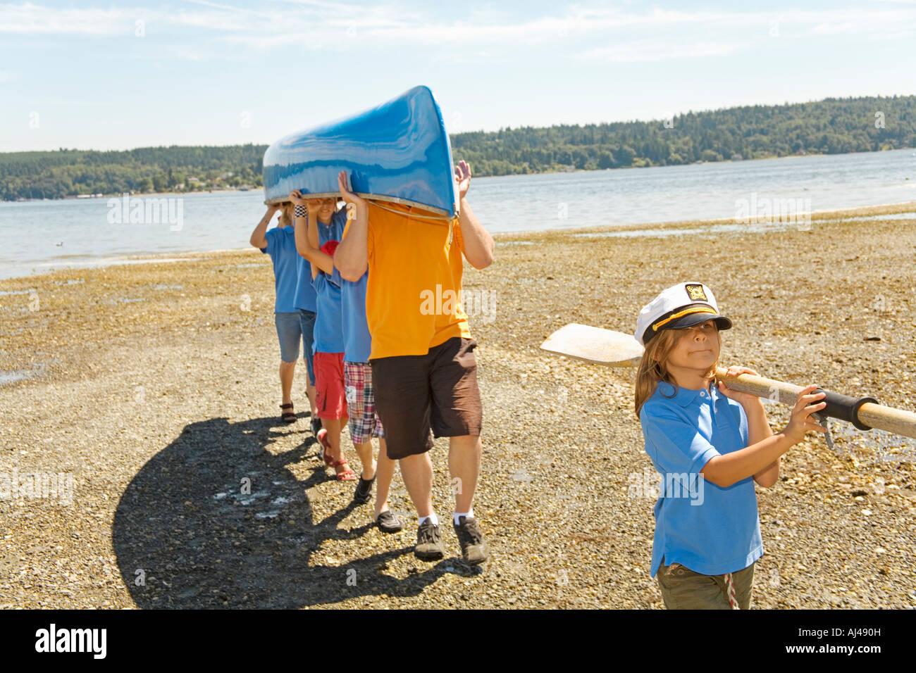 Holding Canoe Stock Photos Amp Holding Canoe Stock Images