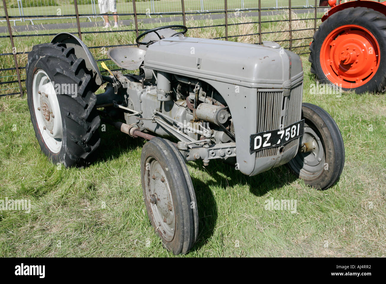 ford ferguson n-series classic tractor during vintage