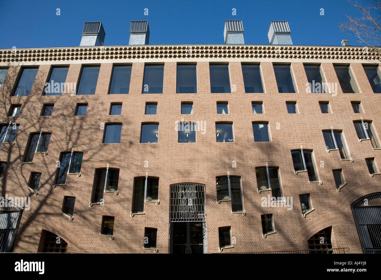 UCL School of Slavonic and East European Studies Taviton Street London England - Stock Image