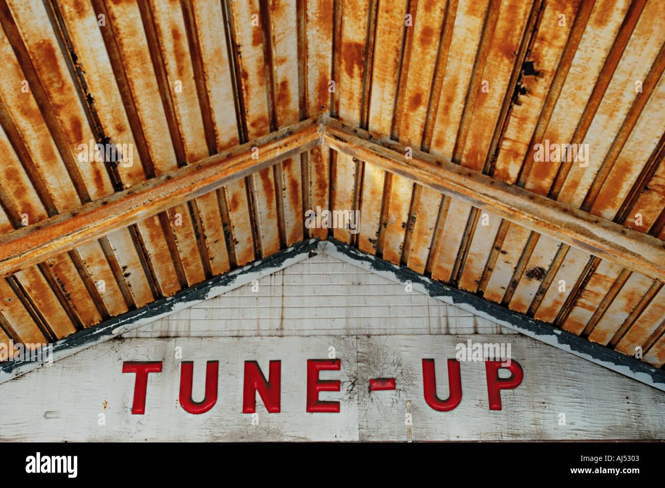 Tune Up - Stock Image