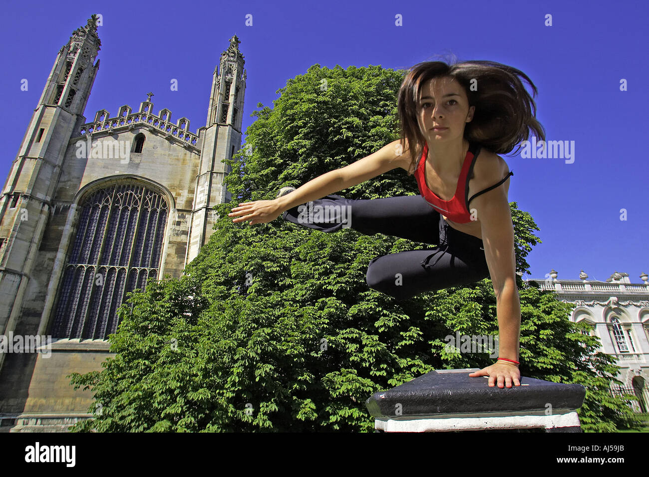 le parkour or free running - Stock Image