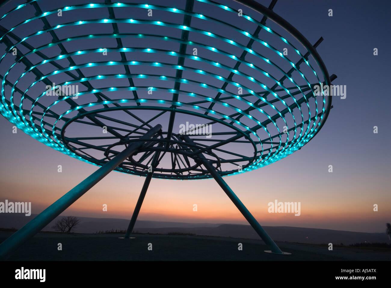 The Halo Panopticon Stock Photo