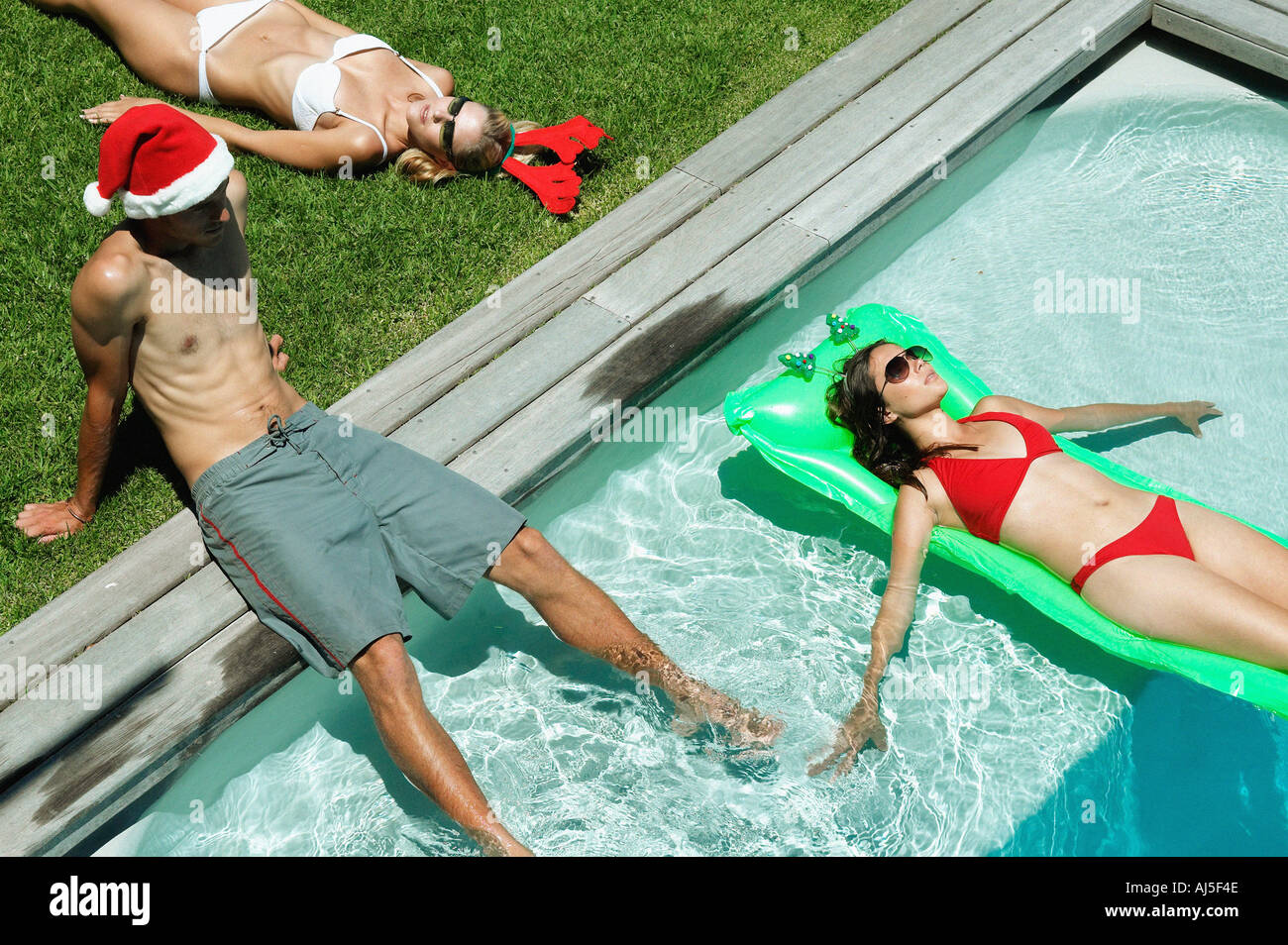 Christmas pool stock photos christmas pool stock images alamy Swimming pool sutton coldfield