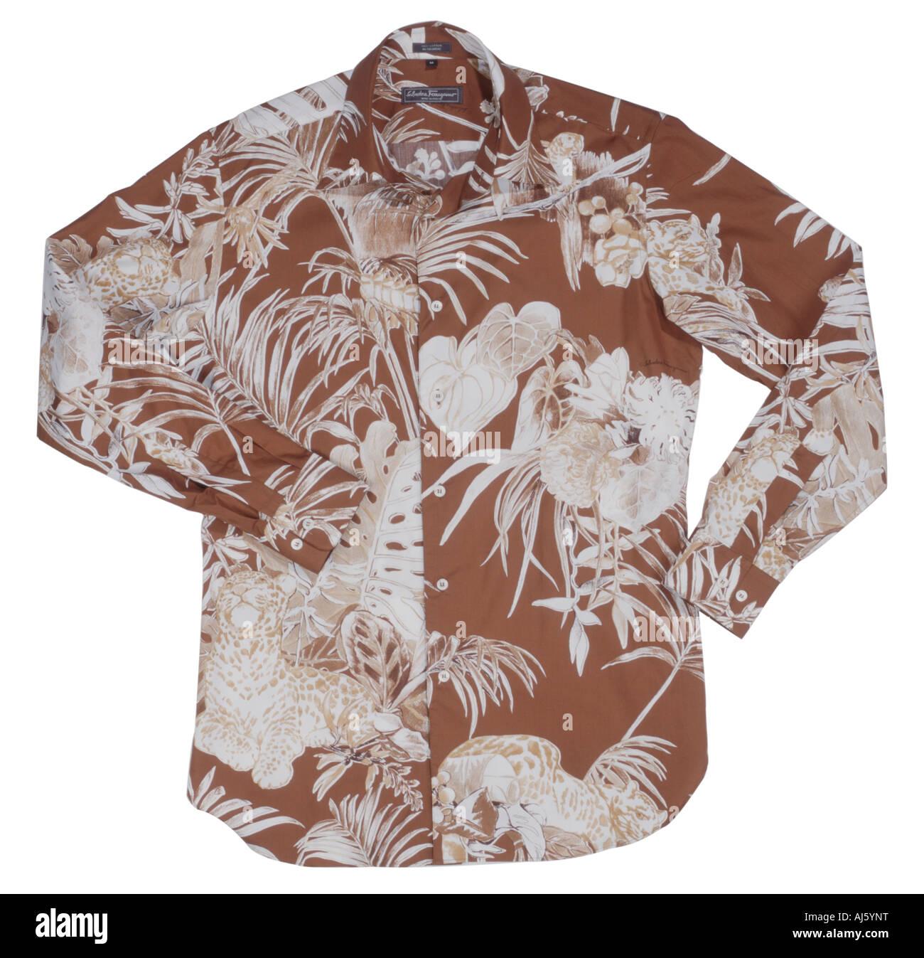 Salvatore Ferragamo shirt - Stock Image
