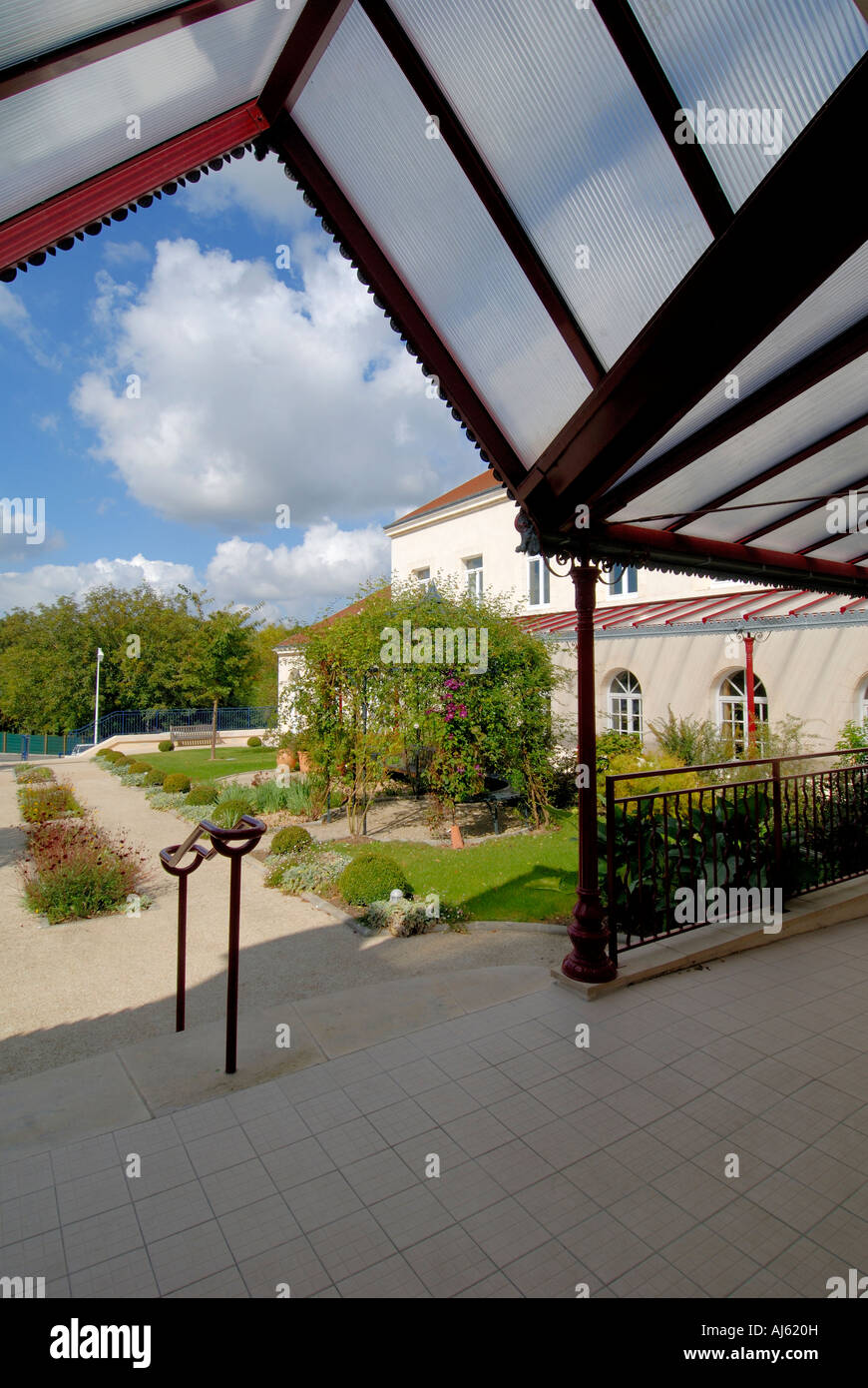 Gardens Of Thermal Spa Center La Roche Posay Vienne France