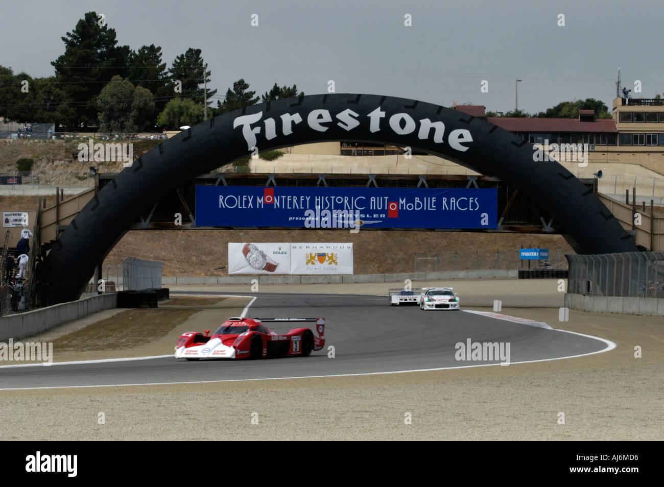 Toyota race car demonstration laps at the 32nd Monterey Historic ...