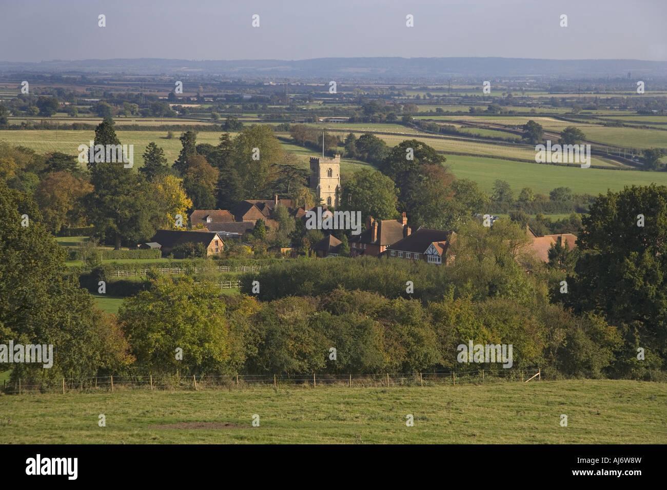 Quainton Village in the Vale of Aylesbury Buckinghamshire - Stock Image