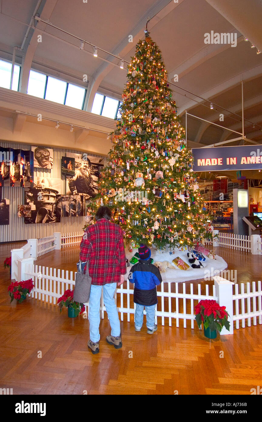 Greenfield Village Christmas.Henry Ford Museum At Greenfield Village Dearborn Michigan