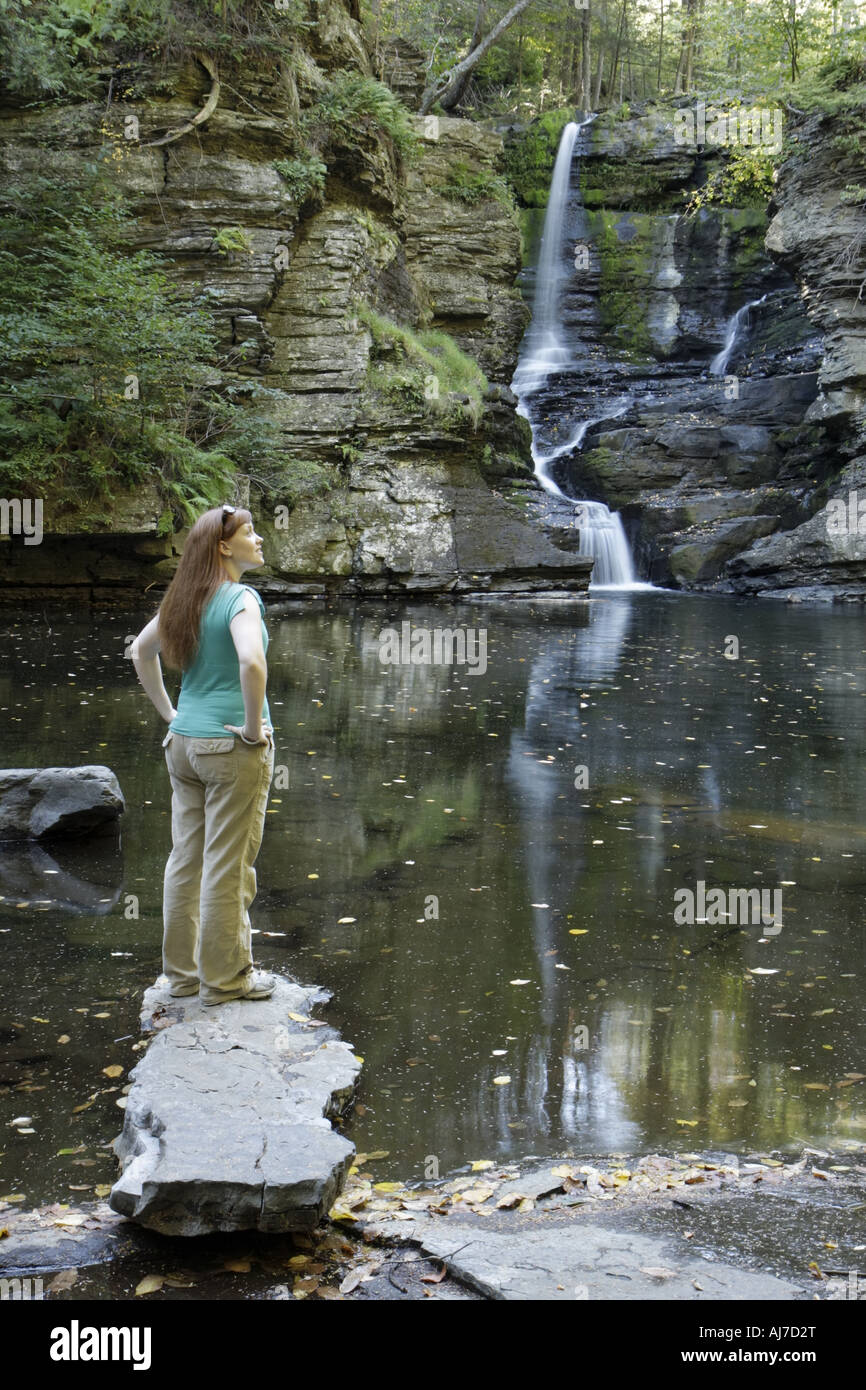 Deer Leap Falls High Resolution Stock Photography And Images Alamy