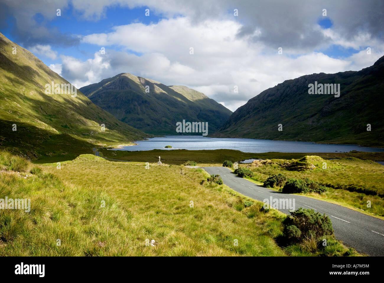 Doolough Pass, Mayo, Ireland - Stock Image