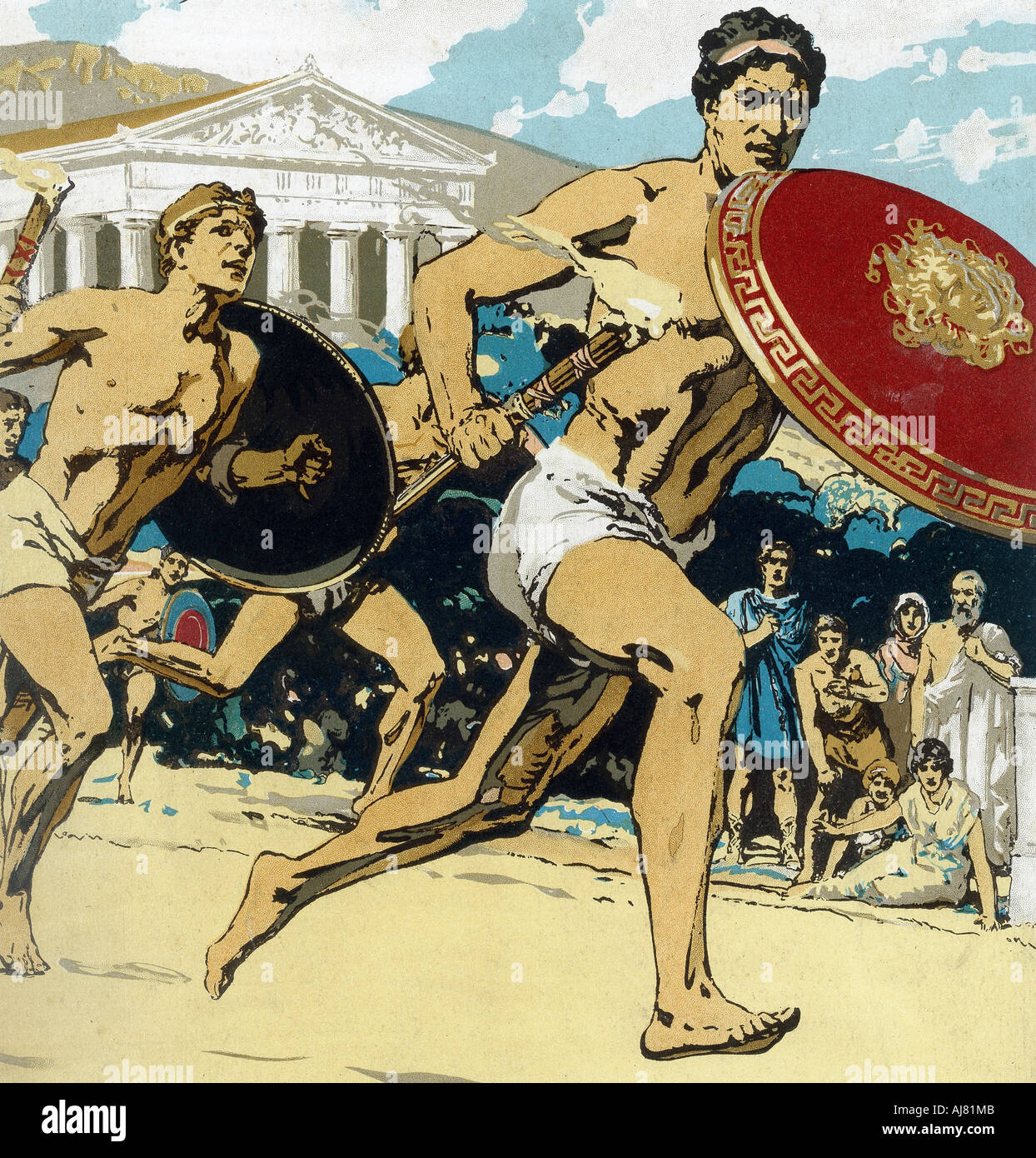Ancient Olympic Games High Resolution Stock Photography and Images - Alamy