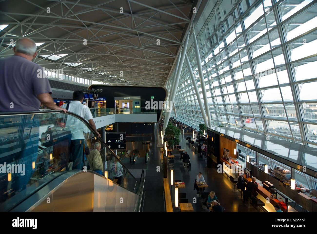 Airside Center, Fifth expansion, Zurich airport, Switzerland - Stock Image