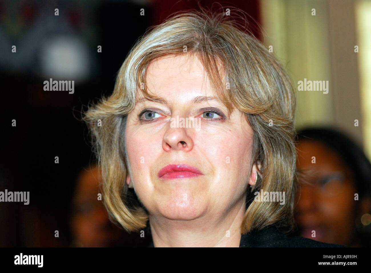 Theresa May MP, Prime Minister of England, London, UK. - Stock Image