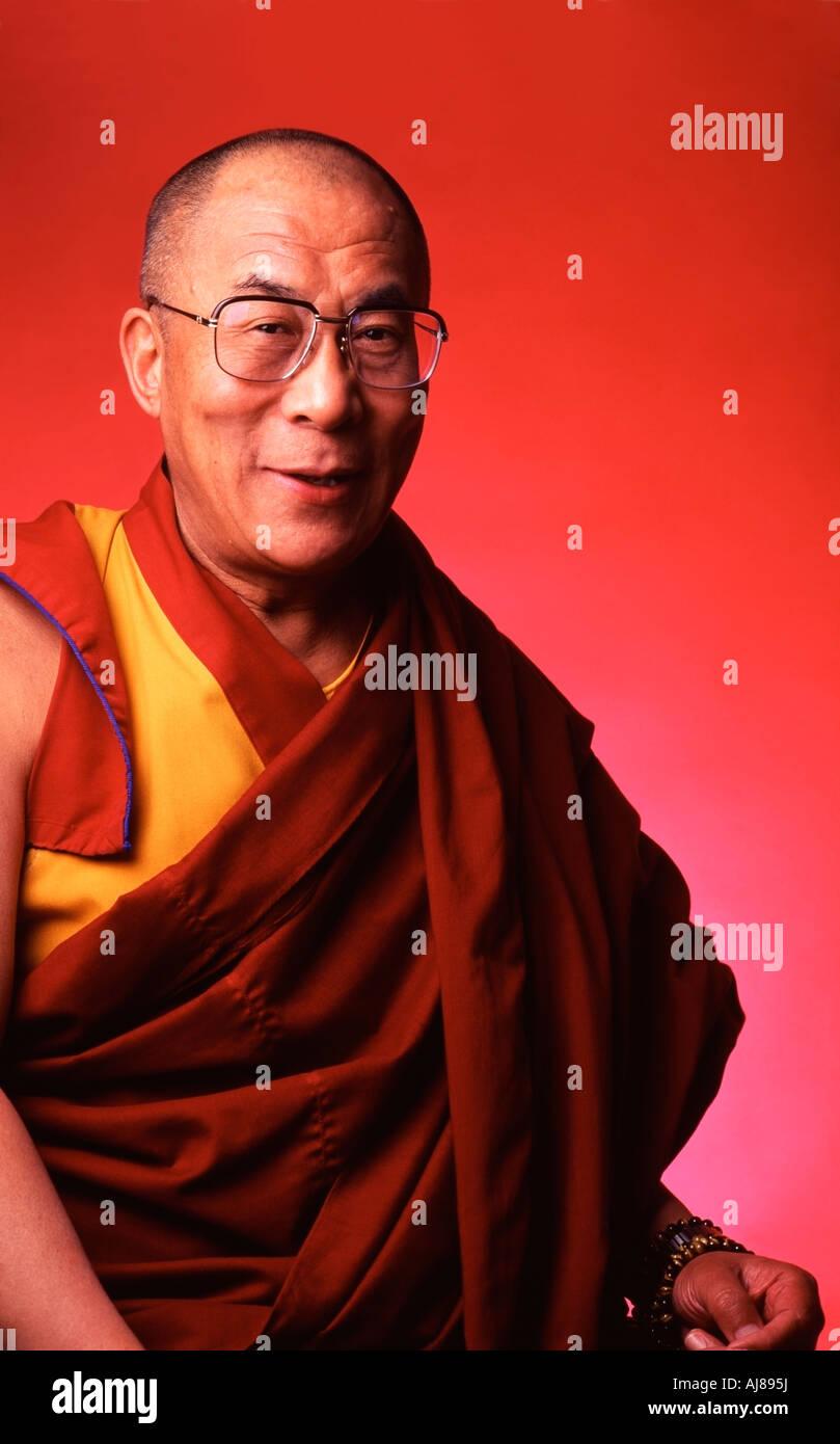 Chuck Close Dalai Lama