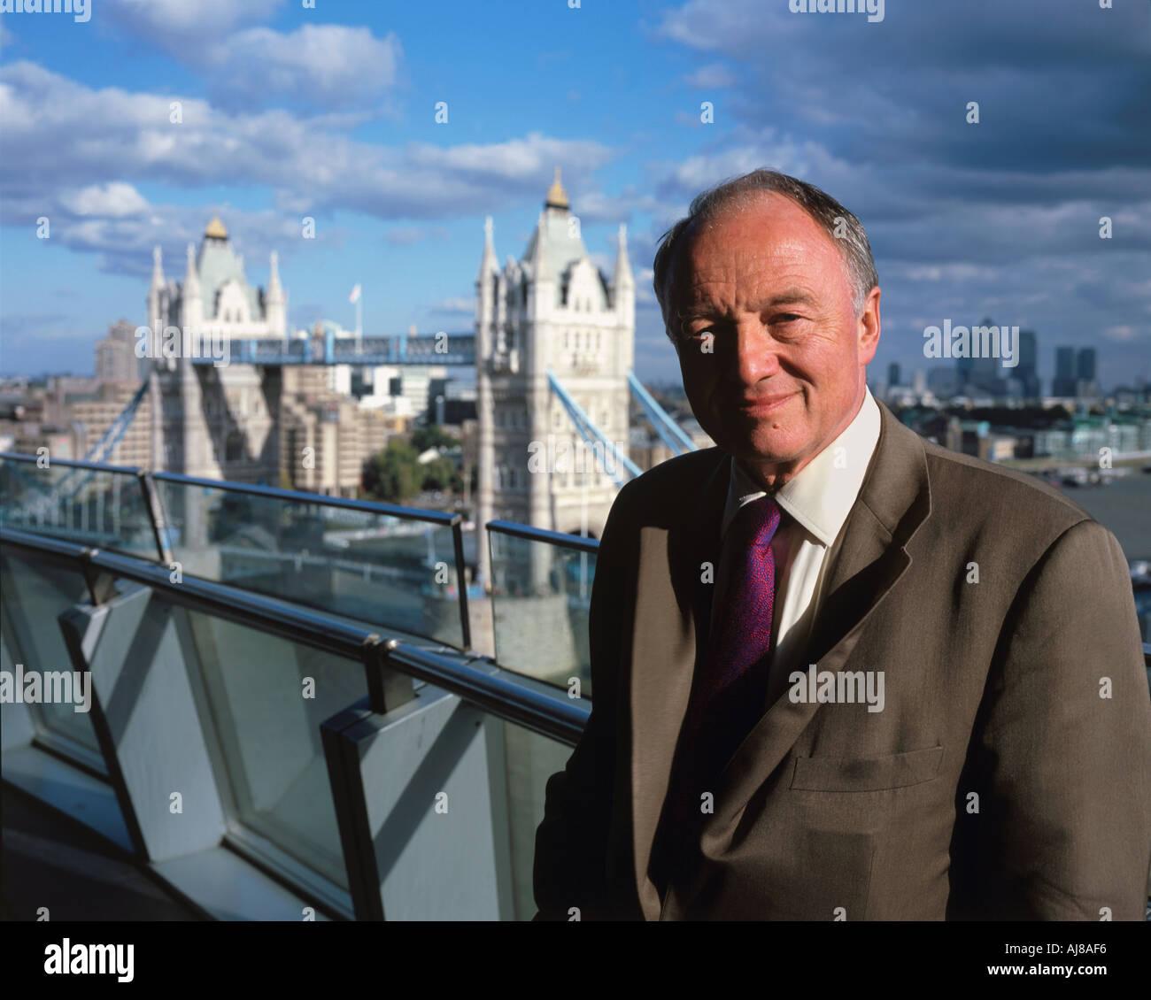 Ken Livingstone Mayor of London - Stock Image