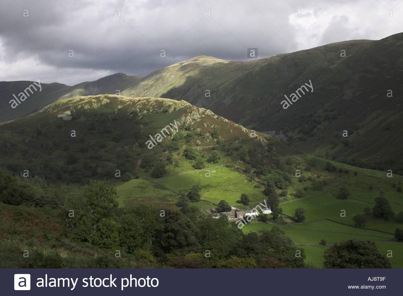 Beatrix Potter Farm, Kirkstone Pass Lake District, Cumbria - Stock Image