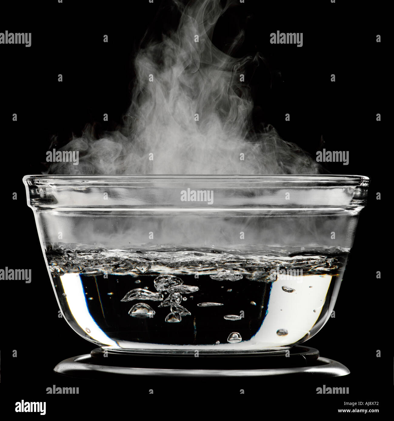 Water boiling in a glass pot Stock Photo: 4786801 - Alamy