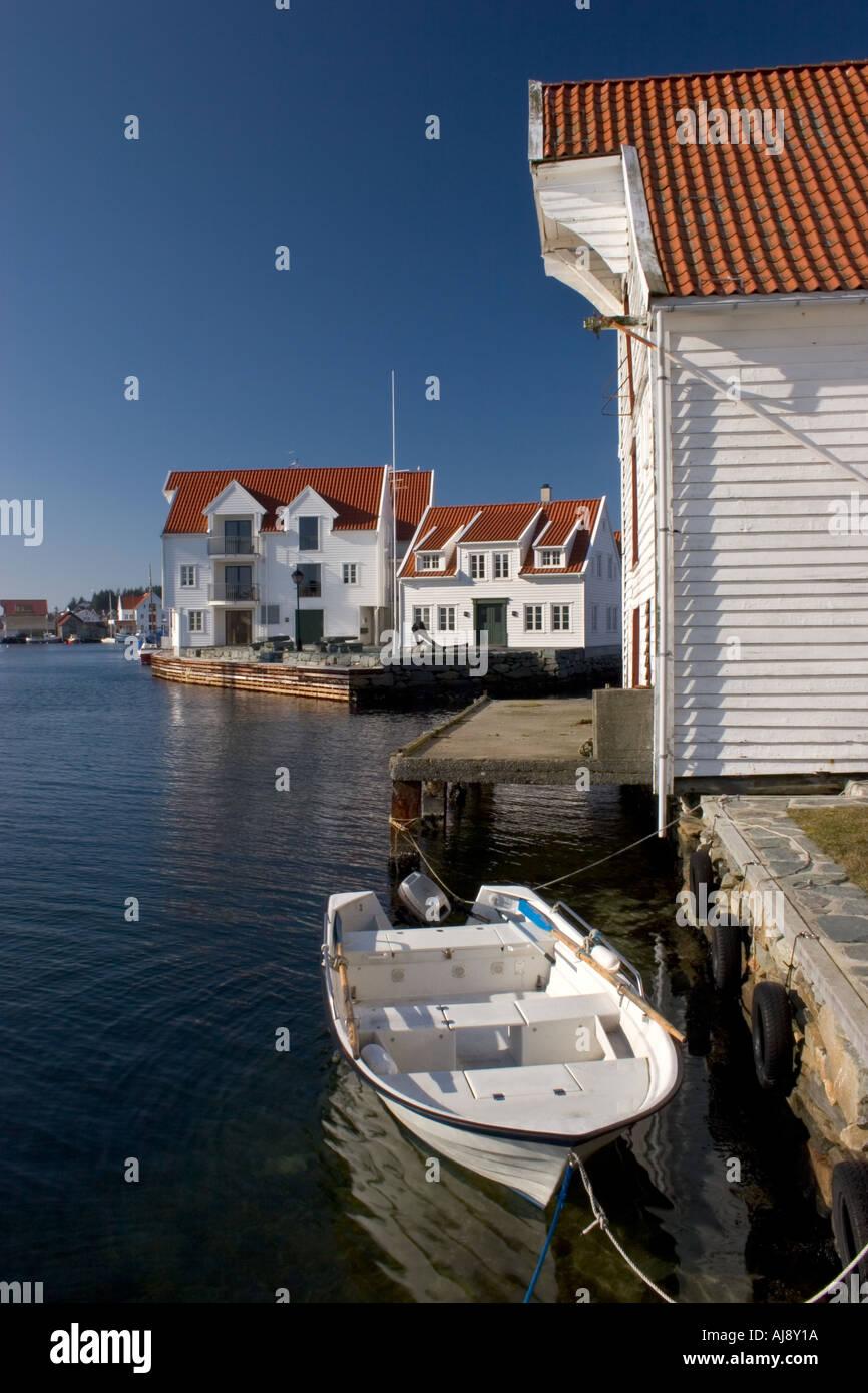 From old Skudeneshavn, Norway. - Stock Image